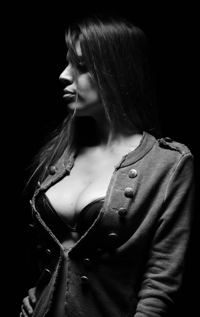 sensualità in bianco nero di irina sirbu