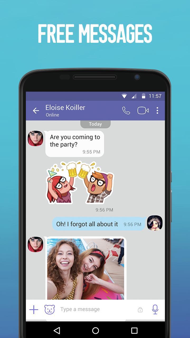 Viber screenshot #2