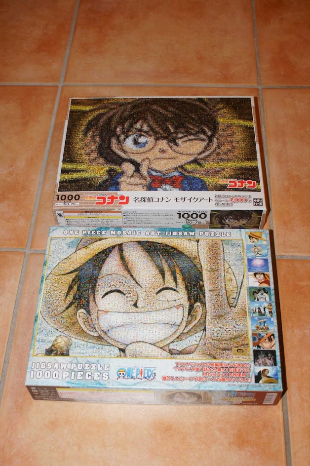 One Piece Conan Puzzle