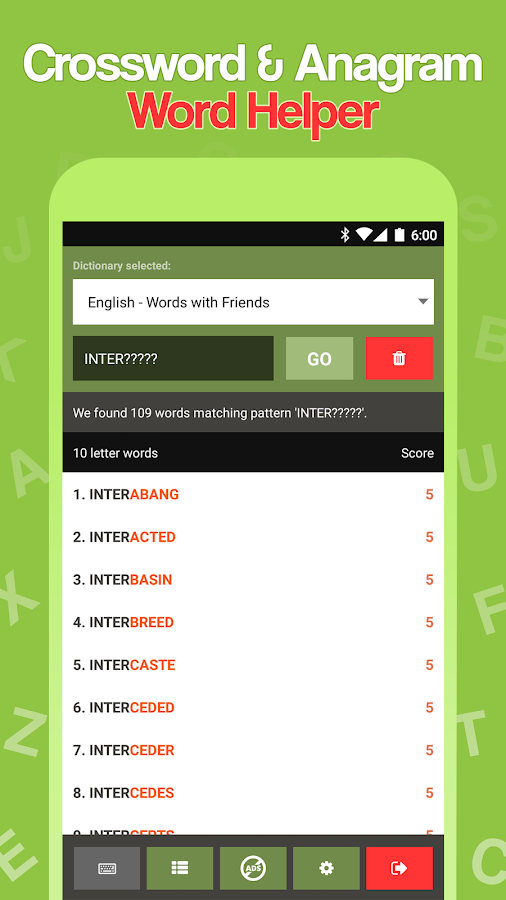 Scrabble Cheat – Word Helper Android Apps on Google Play