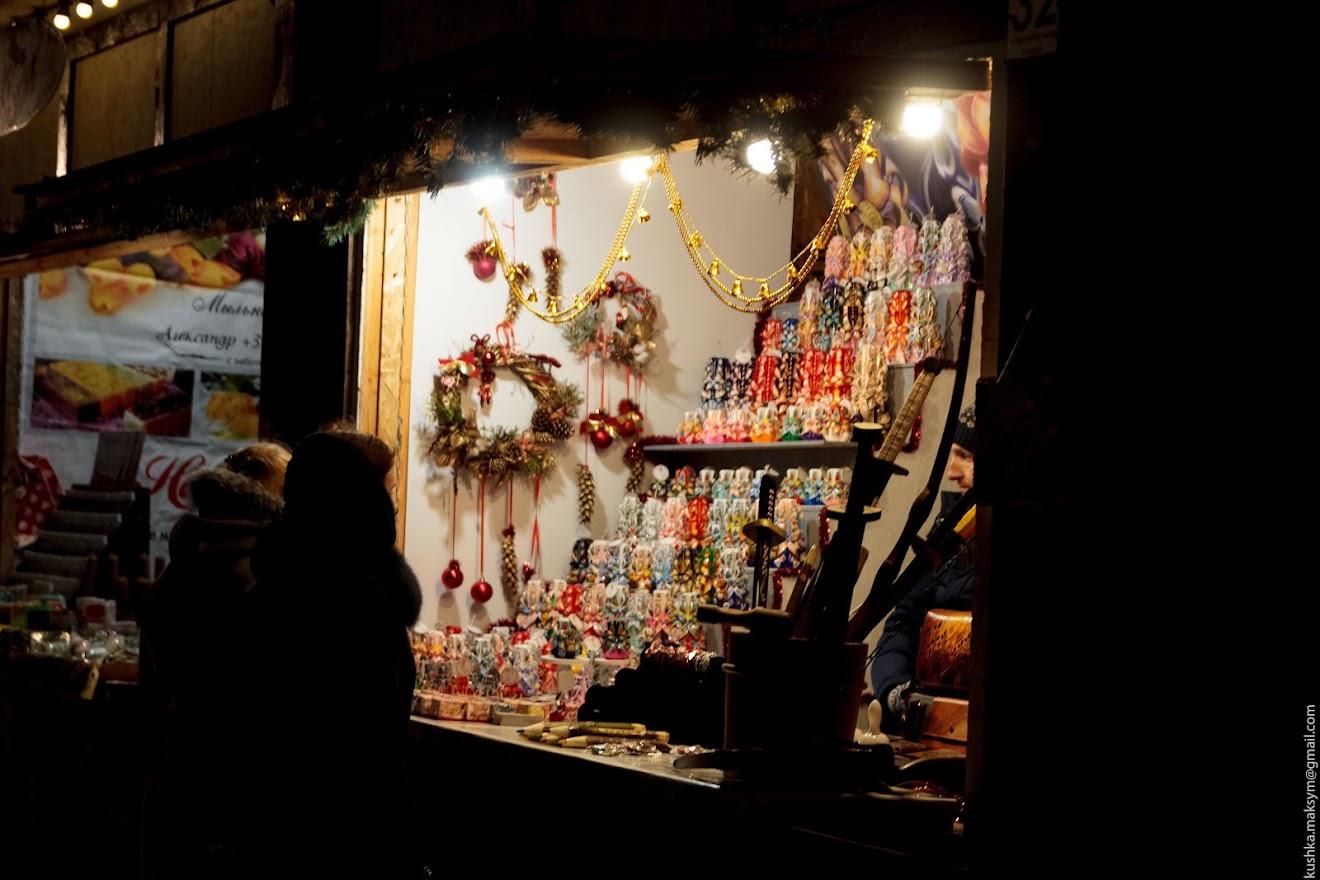 Новорічно-різдвяний ярмарок вже розпочав свою роботу