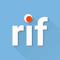 rif is fun golden platinum for Reddit icon