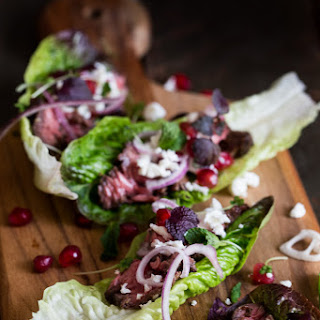 Easy Persian Beef Lettuce Cups
