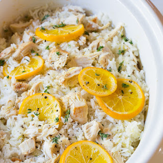 Bistro Slow Cooker Chicken and Rice