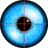 Iris eye scanner unlocker