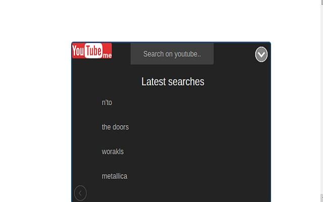 youtubeMe : popup for Youtube™