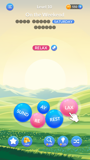 Word Serenity - Calm & Relaxing Brain Puzzle Games modavailable screenshots 1