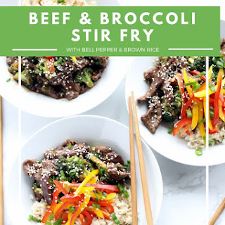 Healthy Beef and Broccoli Stir Fry.