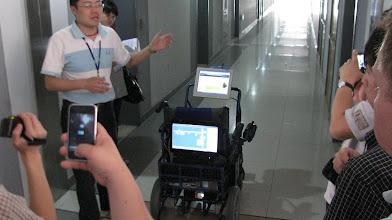Photo: robotics researches