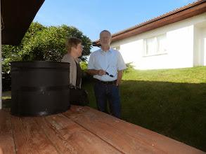 Photo: Norbert und unsere Dolmetscherin.