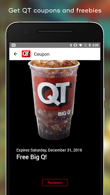 QuikTrip Food, Coupons, & Fuel - screenshot