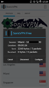 SonicVPN - Free screenshot 1
