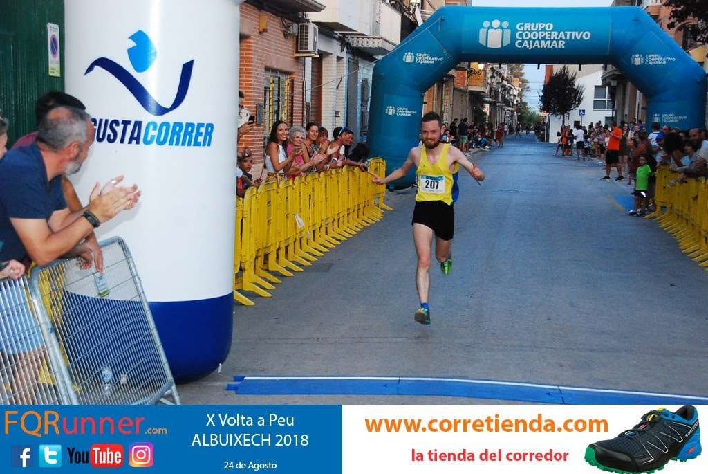 CONAN MCCAUGHEY del NORTH BELFAST HARRIERS