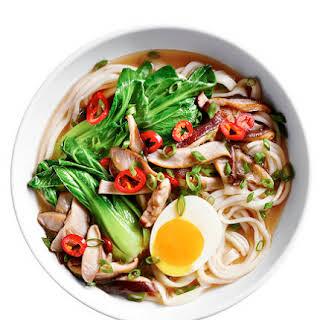Shiitake Udon Soup.