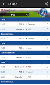 Résultats Foot en Direct screenshot 4