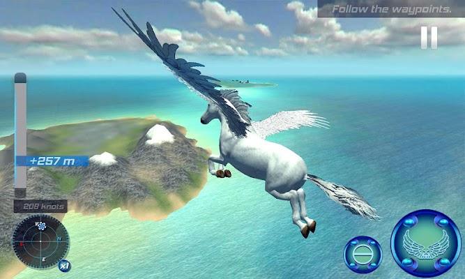 Flying Pegasus Simulator 2017 - screenshot