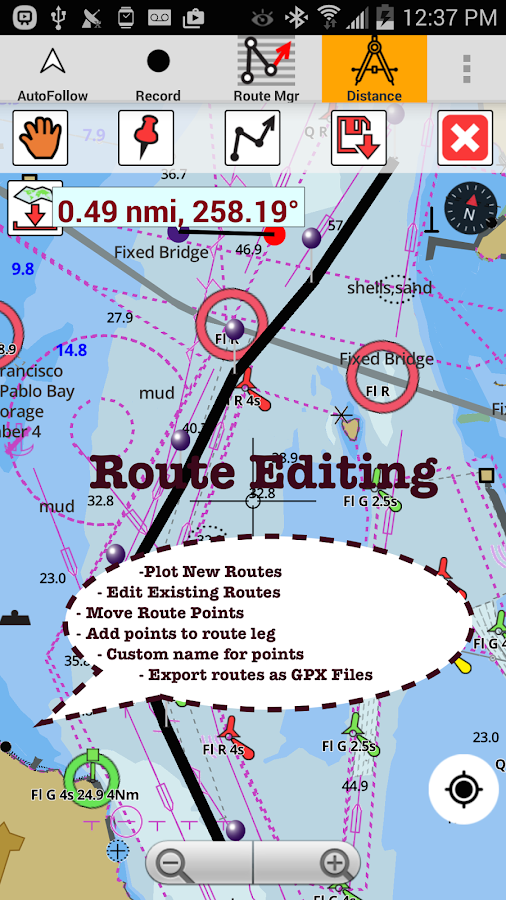 how to read marine navigation charts