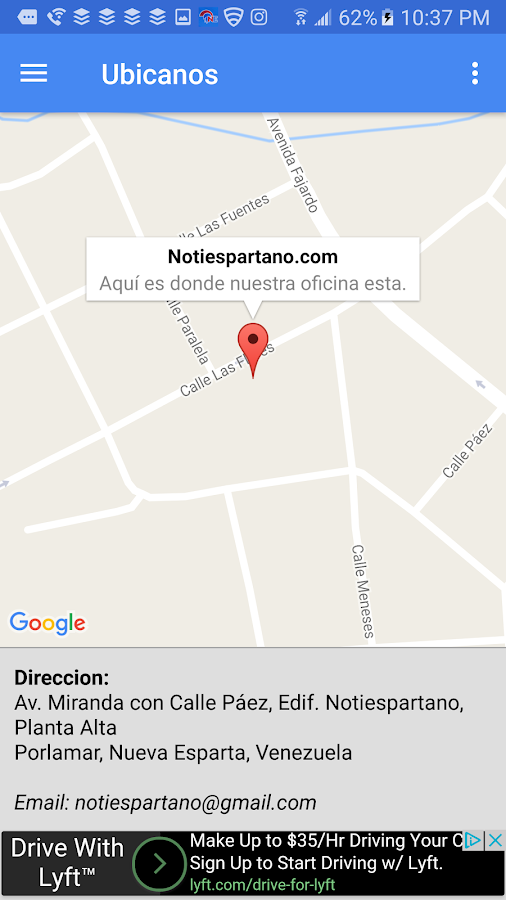 Notiespartano- screenshot