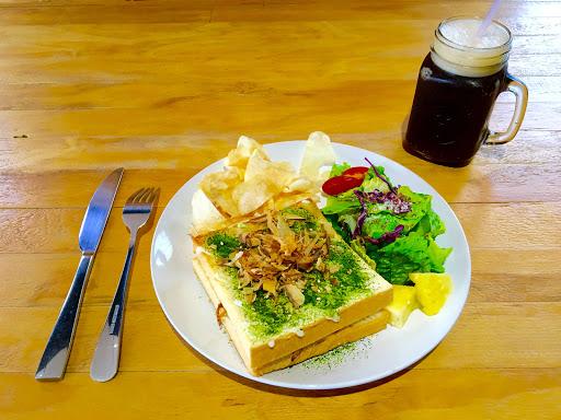 日式大阪燒肉雙層吐司