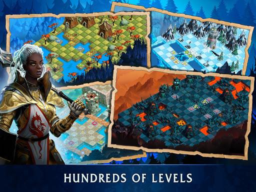 Heroes of War Magic.  Turn-based strategy 1.4.0.3 screenshots 9