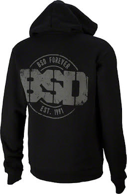 BSD Established Hoodie: Black alternate image 0