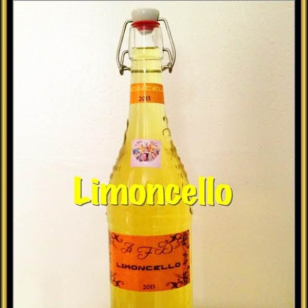 Limoncello Recipe