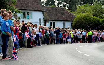 Photo: Crowd at Shere