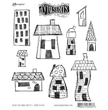 Dylusions Cling Stamps 8.5X7 - Right Up Your Street