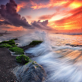 The Motion by Agoes Antara - Landscapes Waterscapes