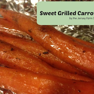 Sweet Grilled Carrots Recipe