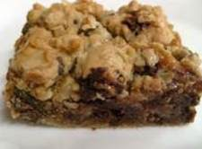 Oatmeal Chocolate Chip Squares Or Rounds Recipe