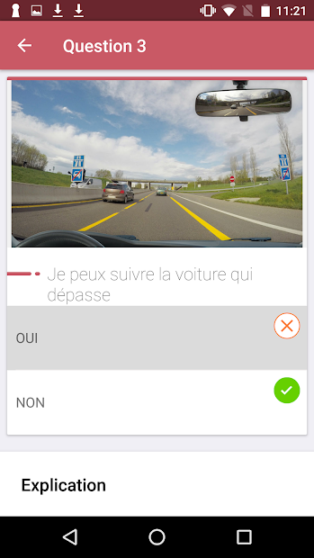 Code de la route 2019 Android App Screenshot