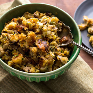 Two-Way Stuffing With Mushrooms and Bacon