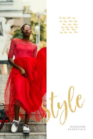 Wardrobe Essentials - Pinterest Pin Template