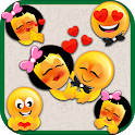 Forever In Love Emoji Stickers icon