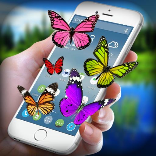 Butterfly on Screen - Real 3D Butterfly in Screen