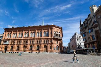 "Photo: Le Art muséum ""Riga Bourse"""