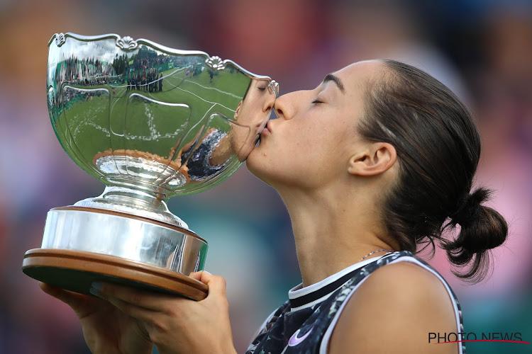 Voormalig nummer vier van de wereld pronkt met trofee na droomfinale, Berrettini en Mannarino vieren bij de mannen