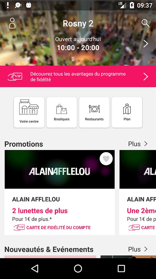 Rosny 2 android apps on google play - Rosny 2 horaire ...