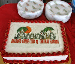 Photo: The beautiful cake donated by Edi and Jeanne