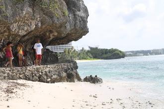 Photo: Taking a walk around Tumon beach