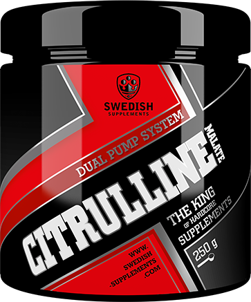 Swedish Supplements Citruline Malate 250g