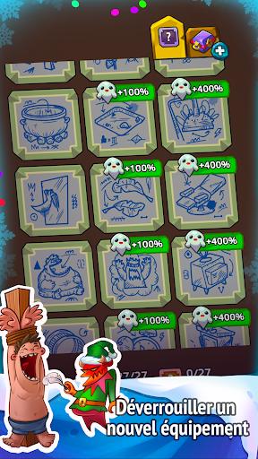 Code Triche Idle Evil Clicker: jeu de Noël  APK MOD (Astuce) screenshots 5