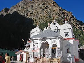 Photo: Gangotri Temple in the lap of Himalaya.