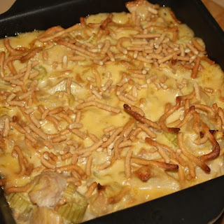 EASY CRUNCHY CHICKEN CASSEROLE Recipe