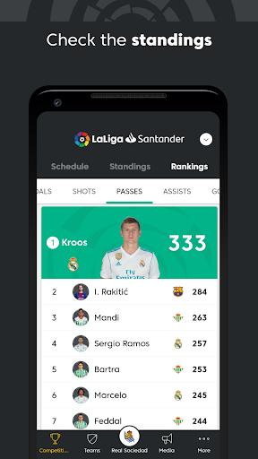 La Liga - Spanish Soccer League Official 7.0.7 screenshots 4