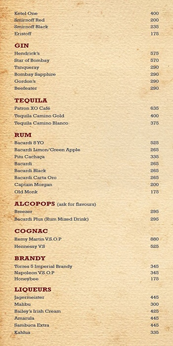 Toit Brewery - Taproom & Kitchen menu 4