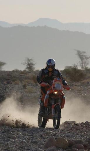 壁紙KTMダカール2007