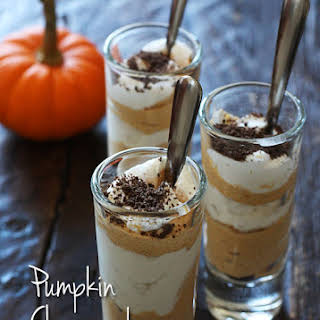 Pumpkin Cheesecake Shooters.