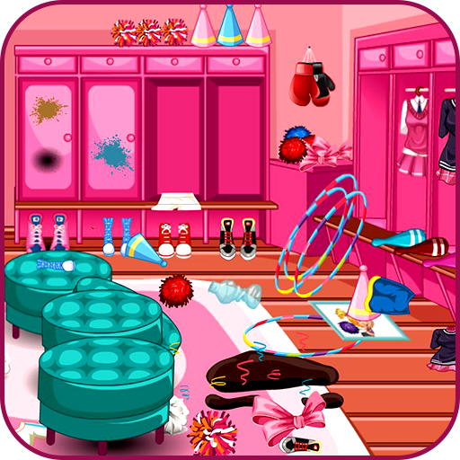 Cheerleader room clean up Icon
